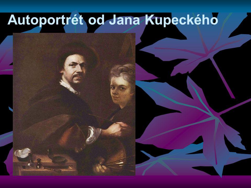 Autoportrét od Jana Kupeckého