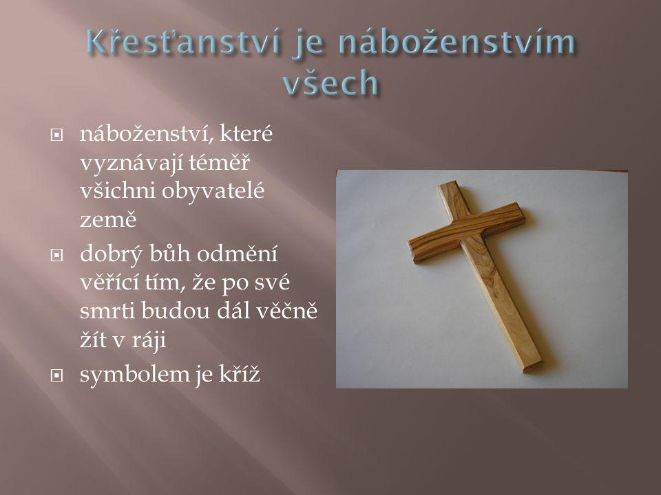Křesťanství je náboženstvím všech