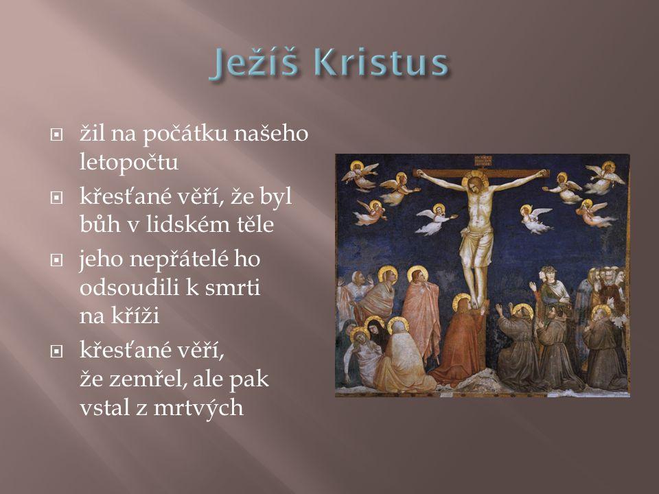 Ježíš Kristus žil na počátku našeho letopočtu