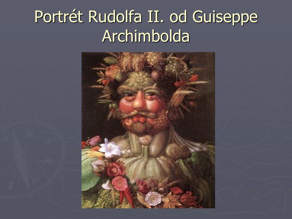 Portrét Rudolfa II. od Guiseppe Archimbolda