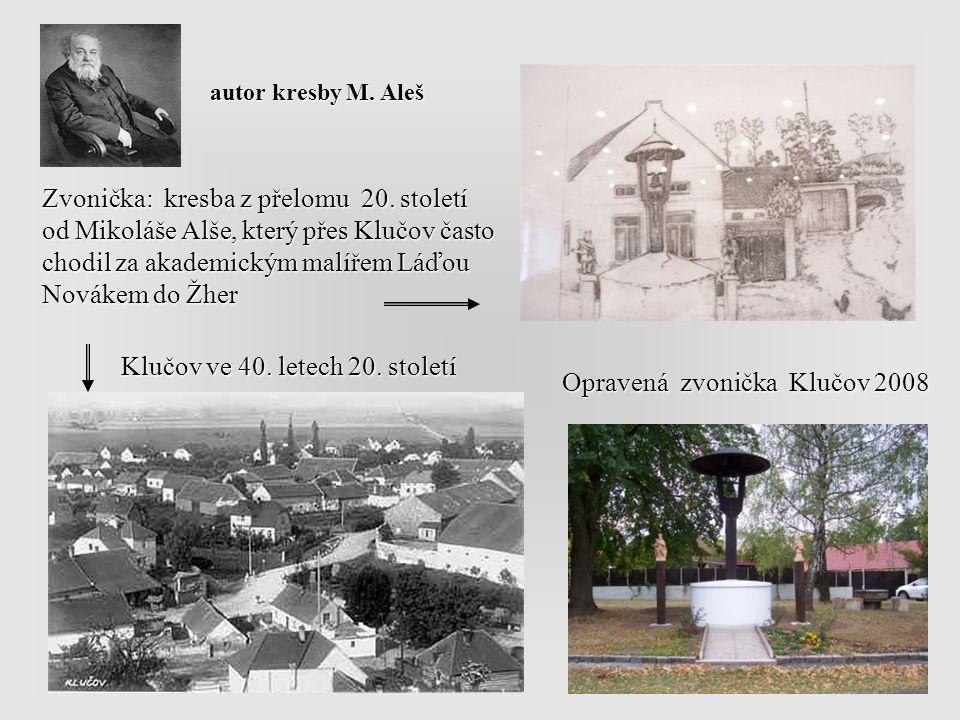 Klučov ve 40. letech 20. století