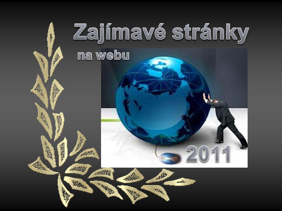 Zajímavé stránky na webu 2011