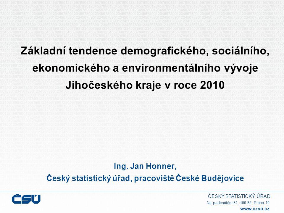 Český statistický úřad, pracoviště České Budějovice