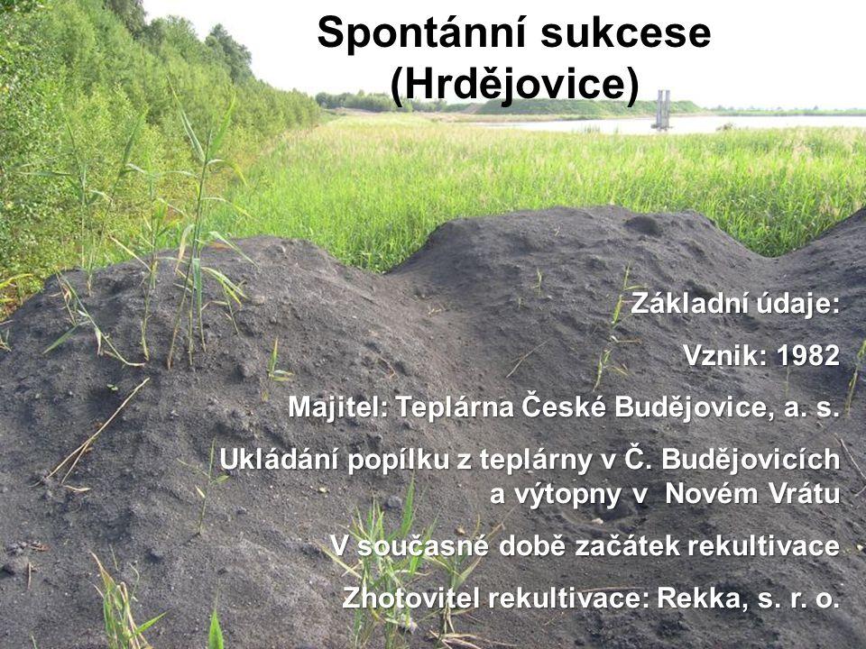 Spontánní sukcese (Hrdějovice)