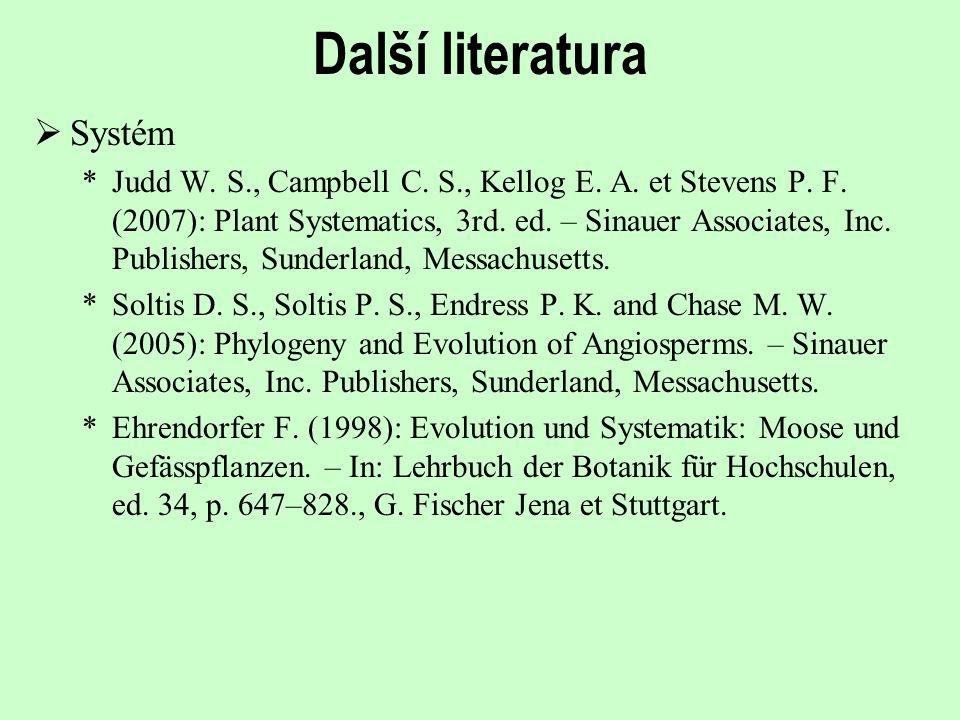 Další literatura Systém