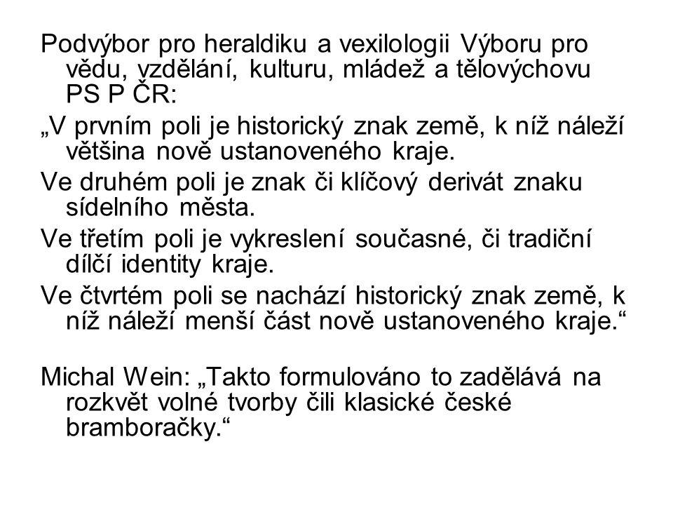 Podvýbor pro heraldiku a vexilologii Výboru pro vědu, vzdělání, kulturu, mládež a tělovýchovu PS P ČR: