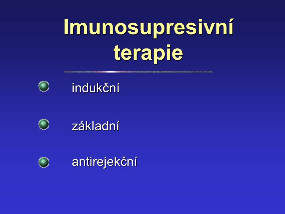 Imunosupresivní terapie