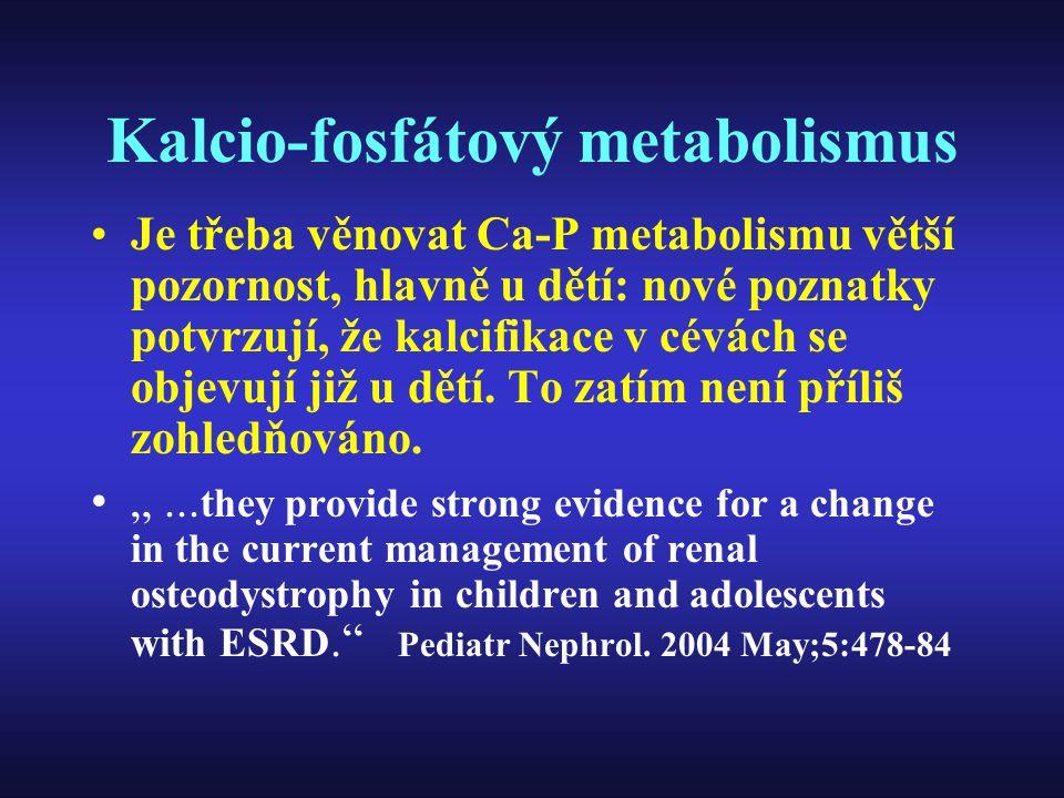 Kalcio-fosfátový metabolismus