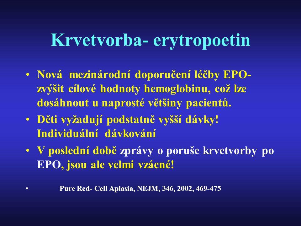 Krvetvorba- erytropoetin