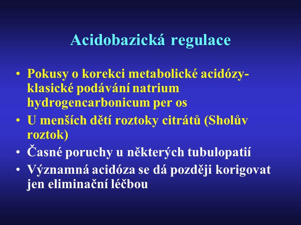 Acidobazická regulace