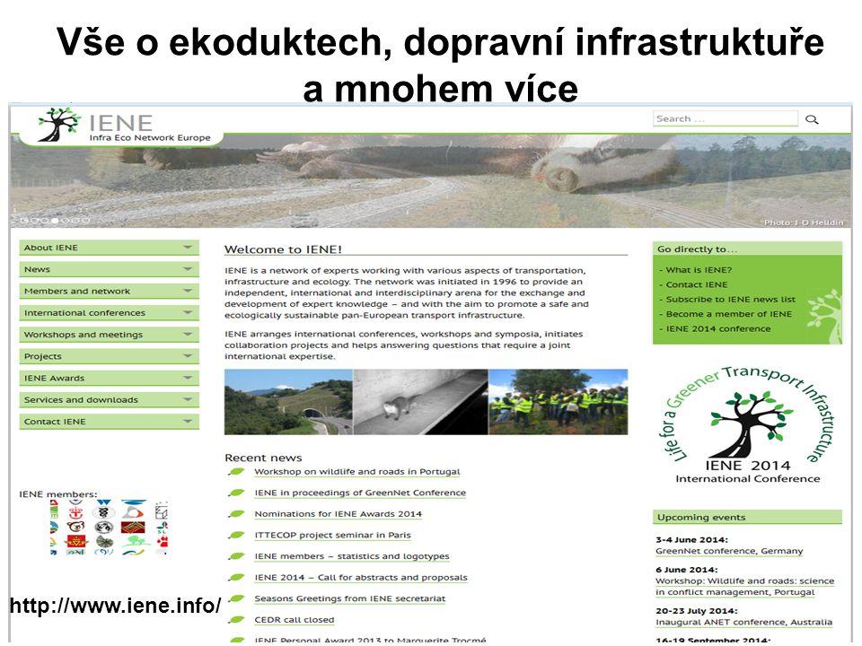 Vše o ekoduktech, dopravní infrastruktuře a mnohem více