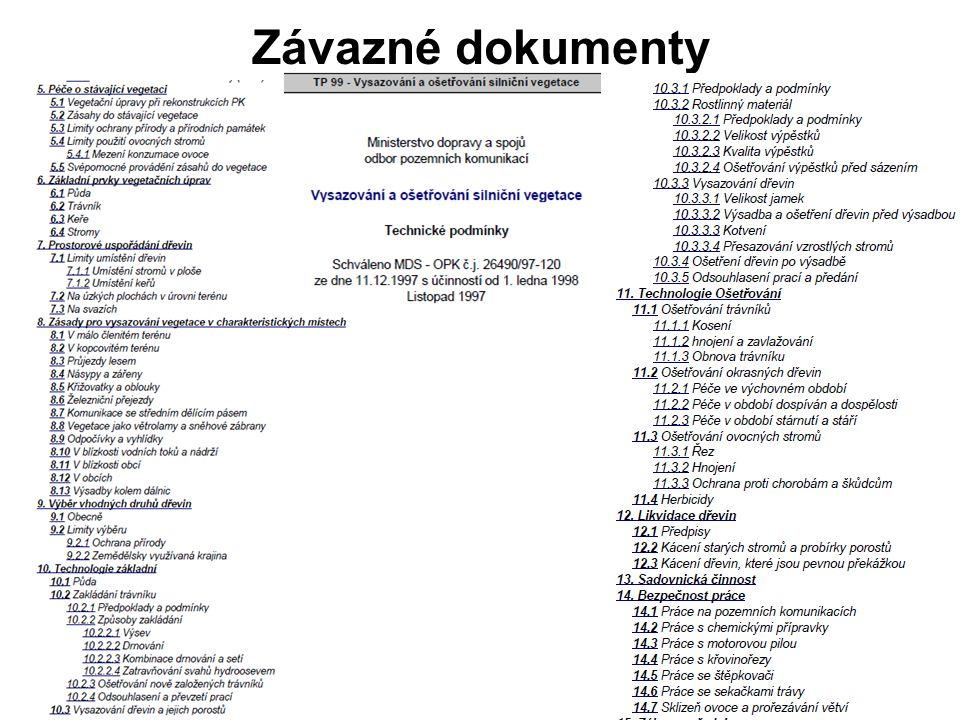Závazné dokumenty