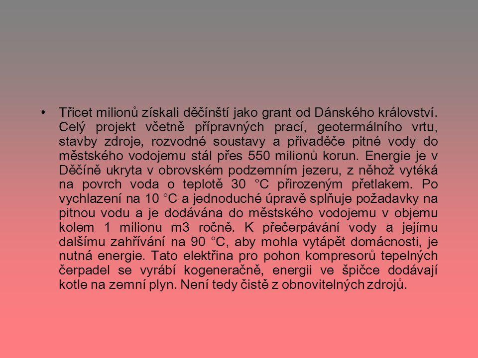 Třicet milionů získali děčínští jako grant od Dánského království