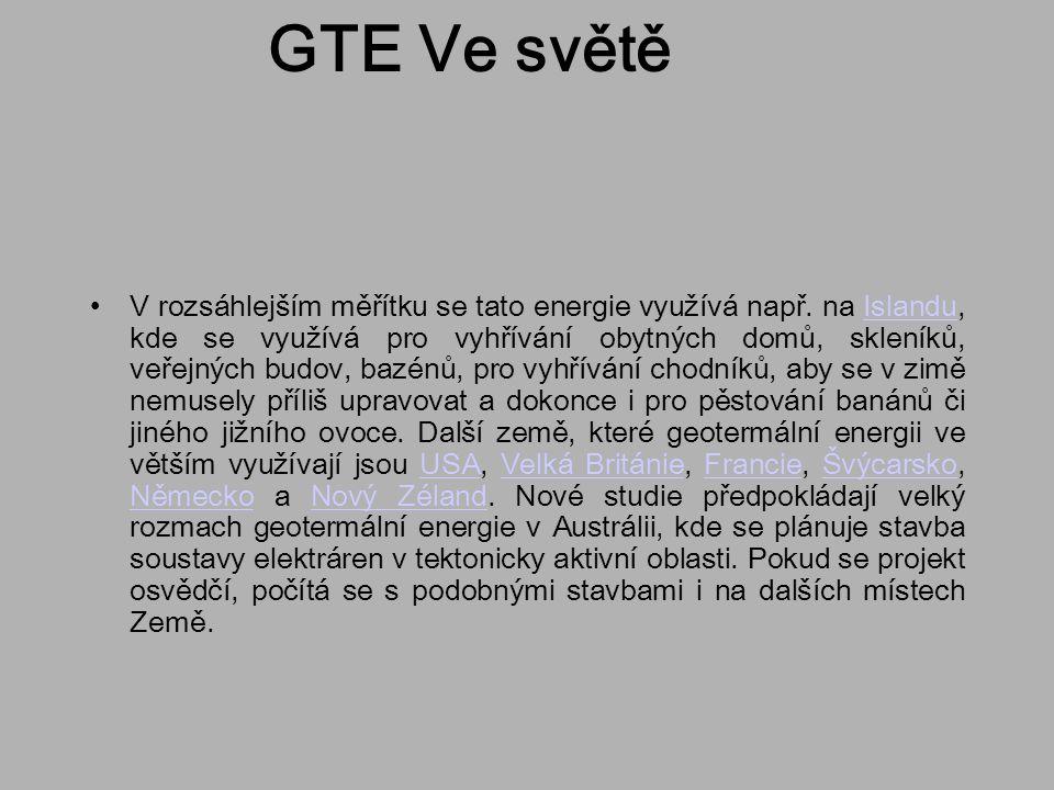 GTE Ve světě