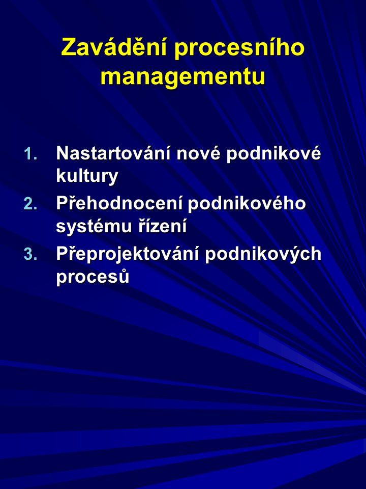 Zavádění procesního managementu