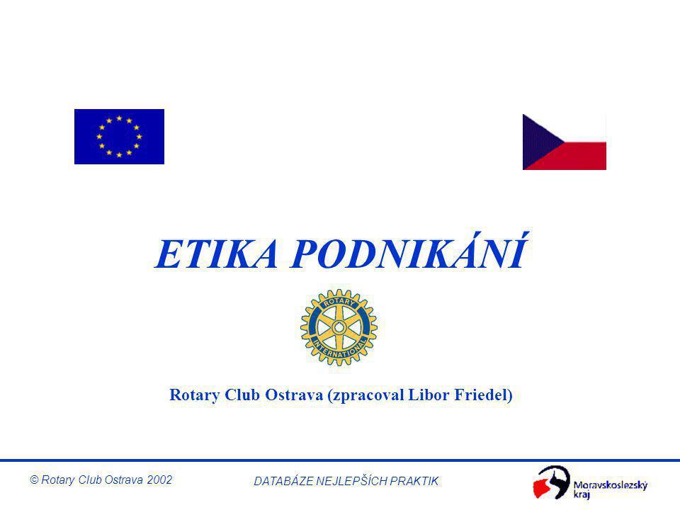 Rotary Club Ostrava (zpracoval Libor Friedel)