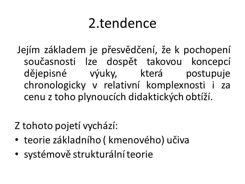 2.tendence