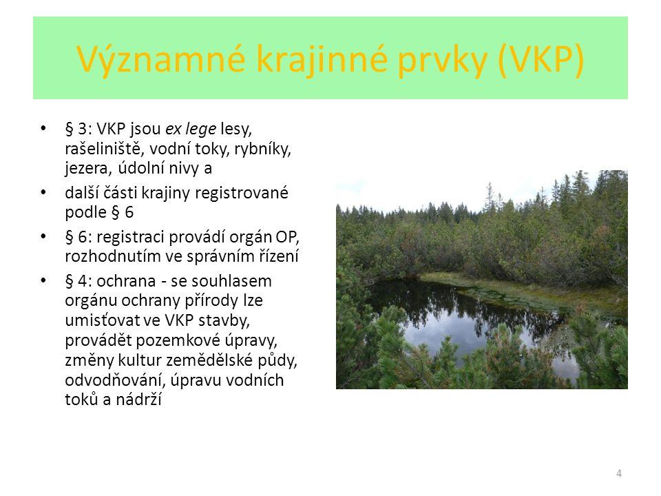 Významné krajinné prvky (VKP)