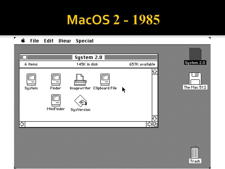 MacOS 2 - 1985