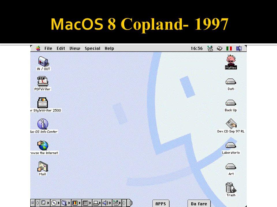 MacOS 8 Copland- 1997