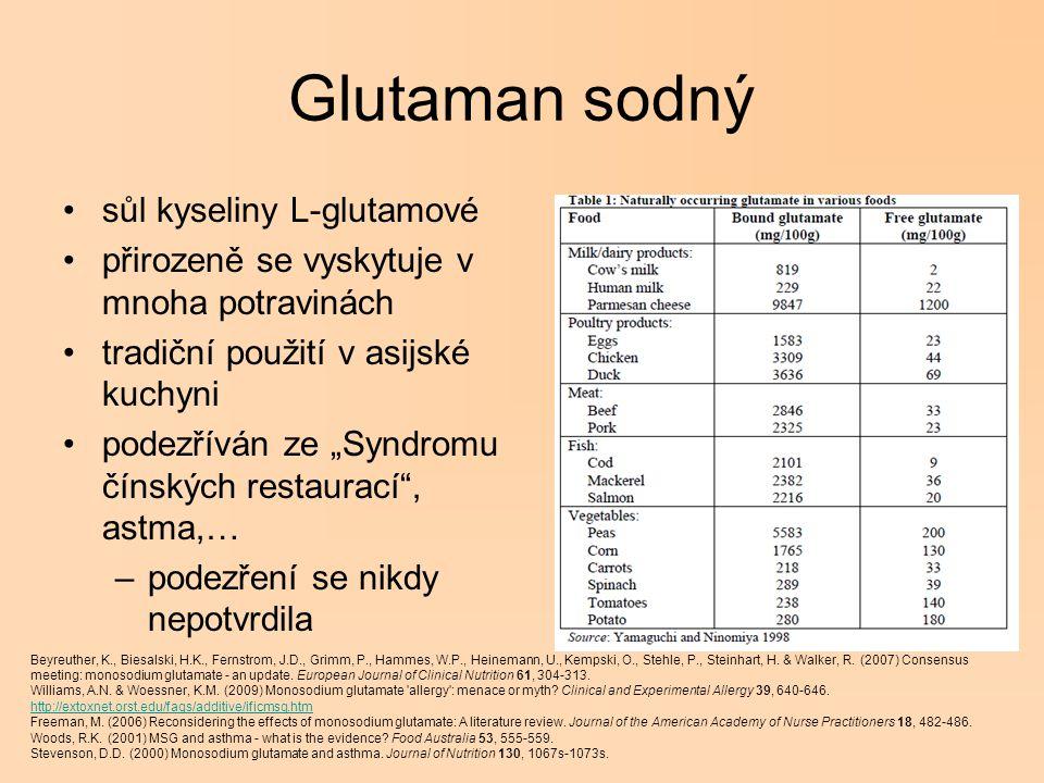 Glutaman sodný sůl kyseliny L-glutamové