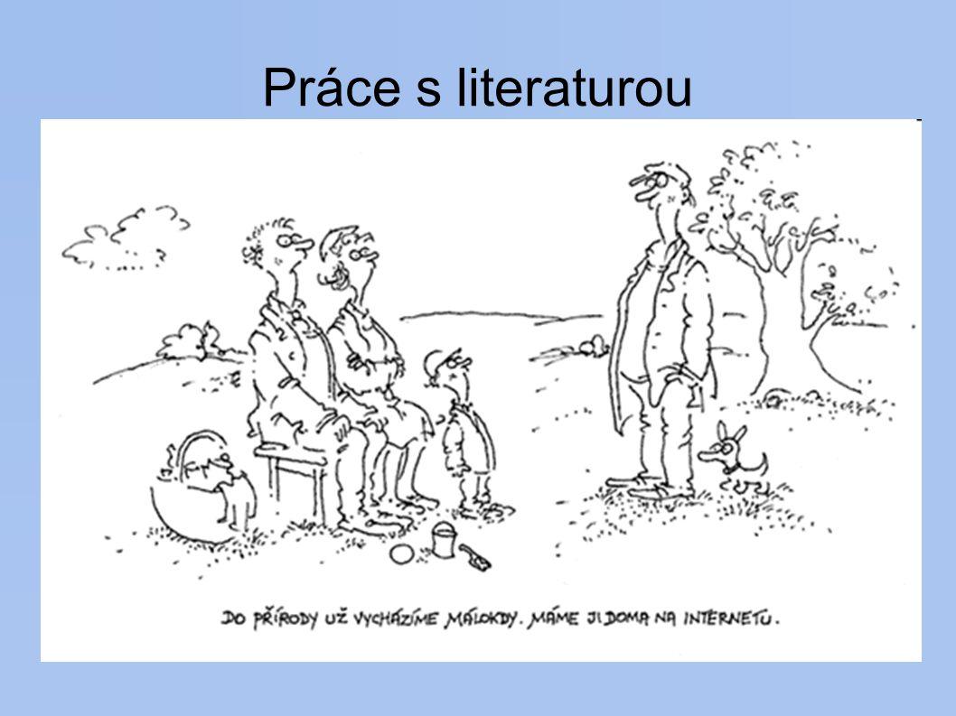 Práce s literaturou http://www.lib.jcu.cz - informační výchova