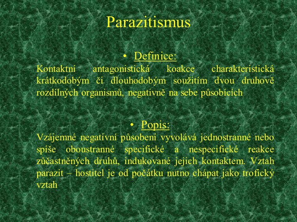 Parazitismus