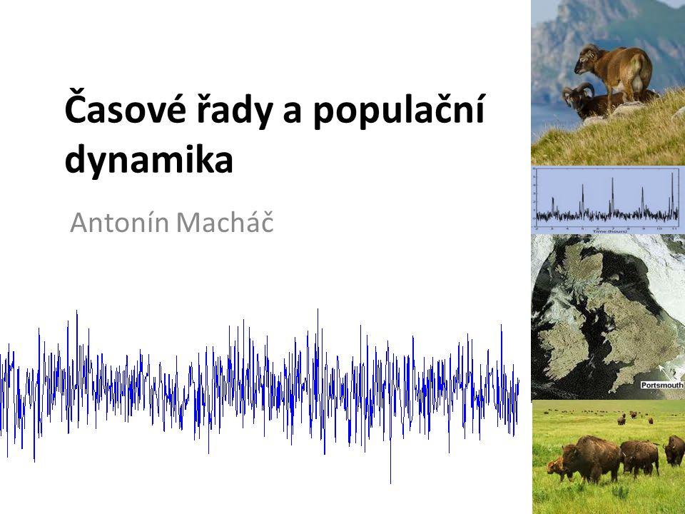 Časové řady a populační dynamika