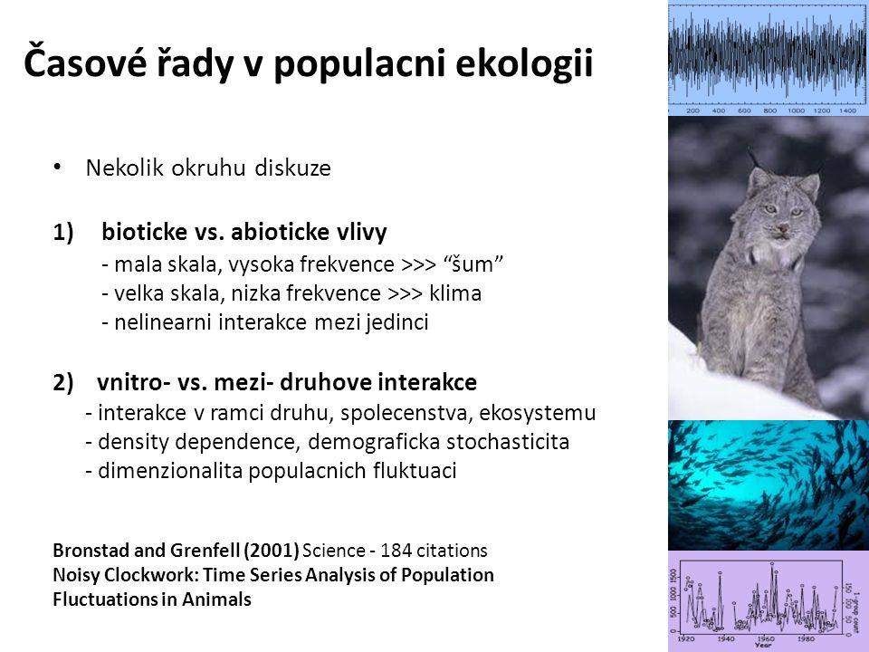 Časové řady v populacni ekologii