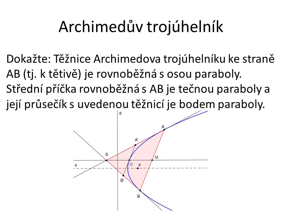 Archimedův trojúhelník