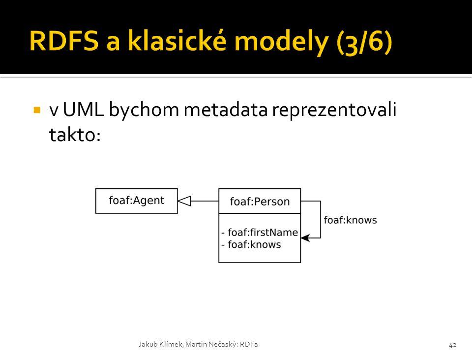 RDFS a klasické modely (3/6)