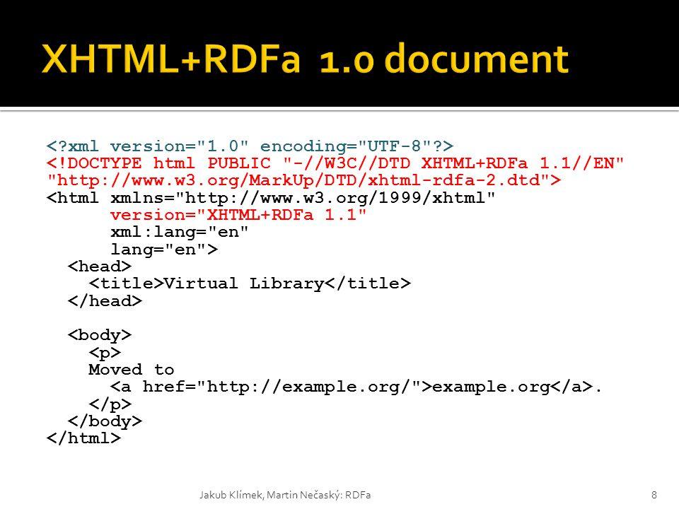 XHTML+RDFa 1.0 document