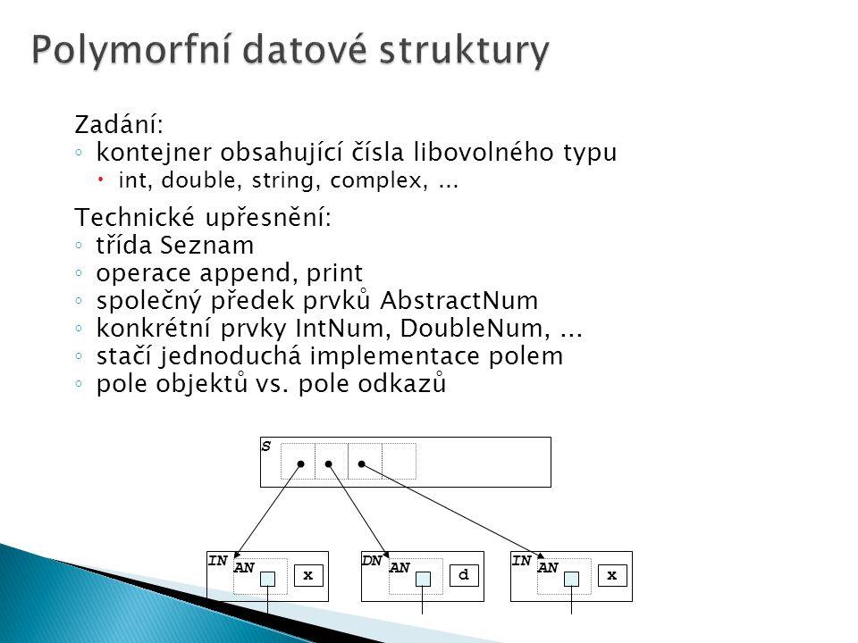 Polymorfní datové struktury