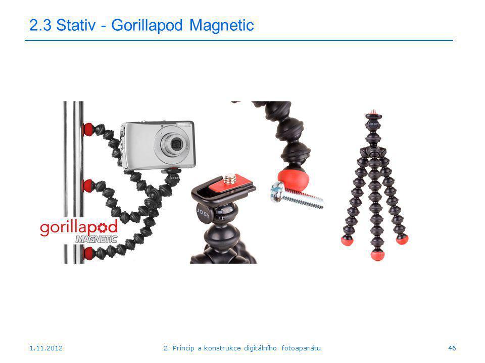2.3 Stativ - Gorillapod Magnetic