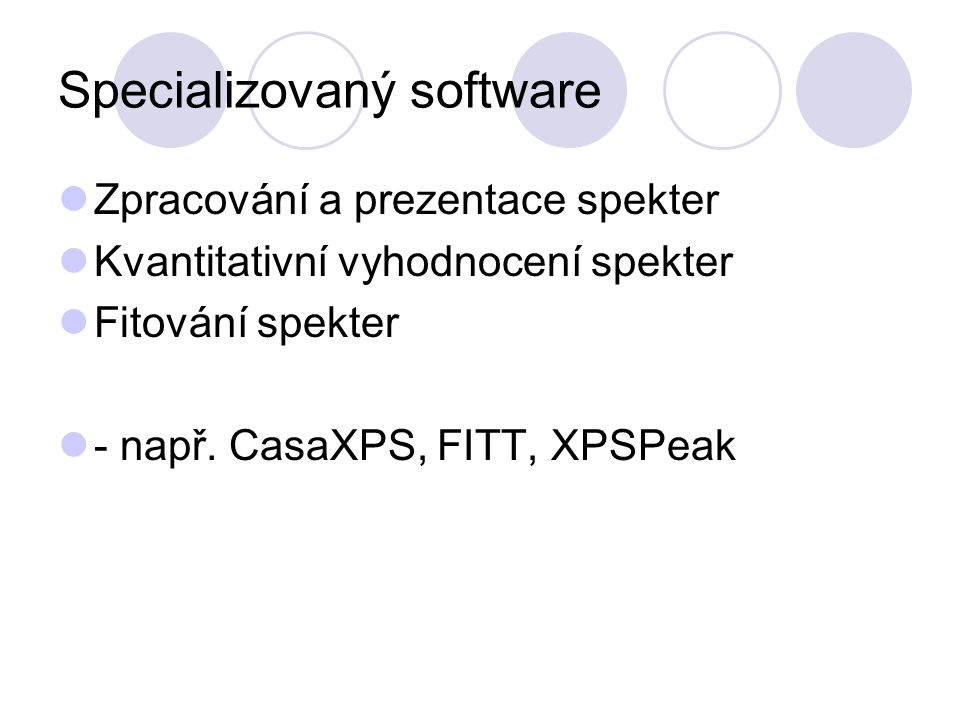 Specializovaný software