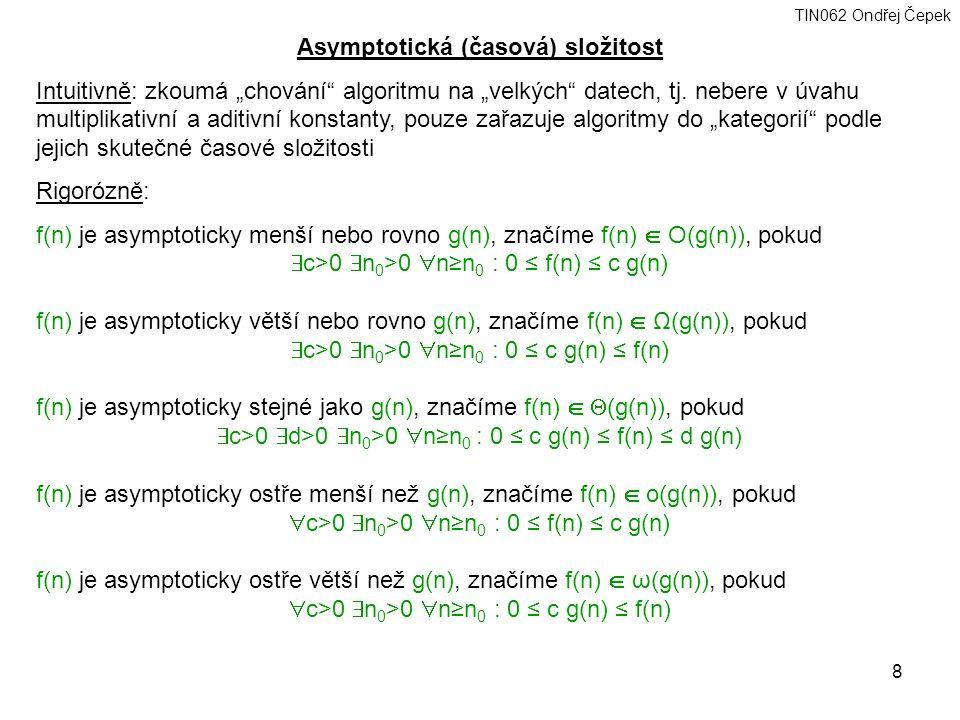 Asymptotická (časová) složitost