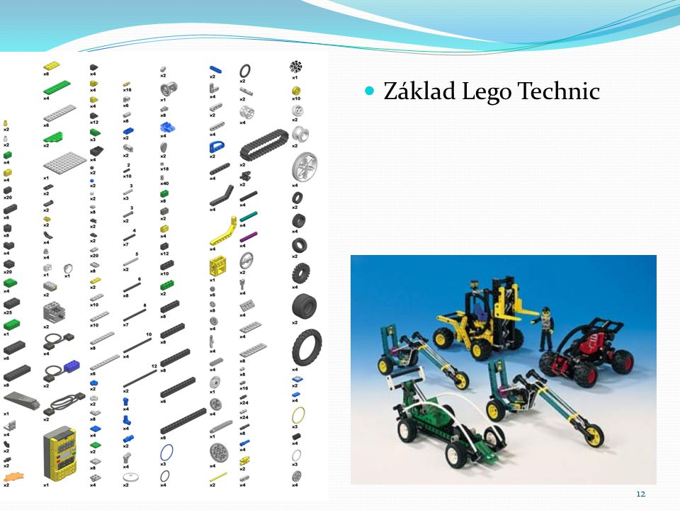 Základ Lego Technic