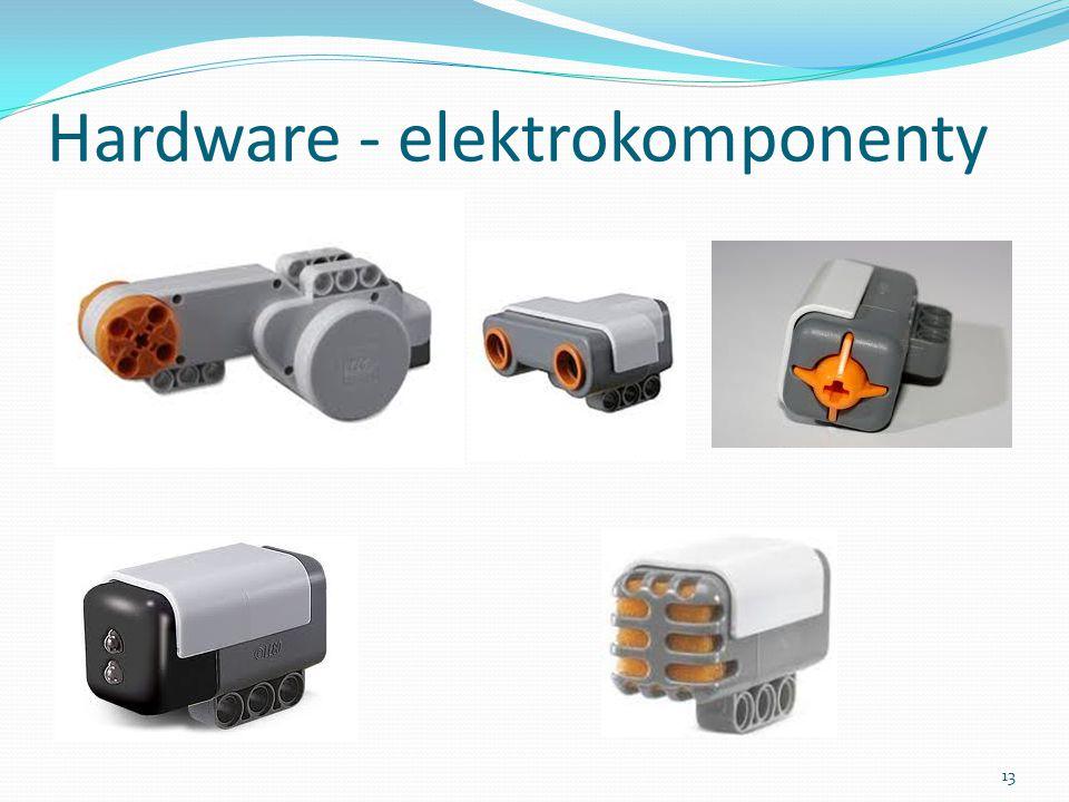 Hardware - elektrokomponenty