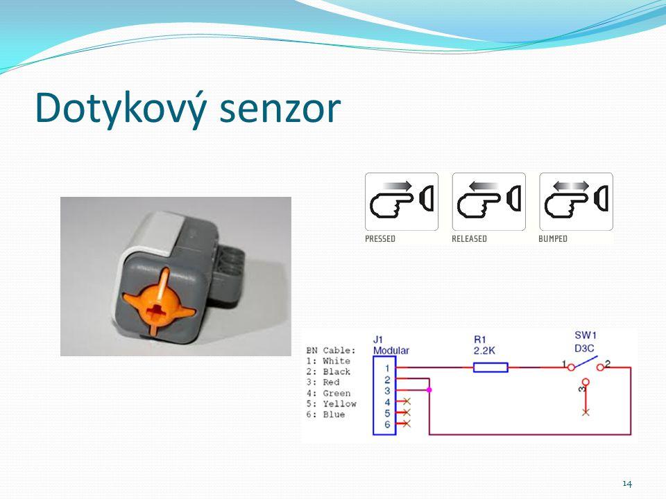 Dotykový senzor