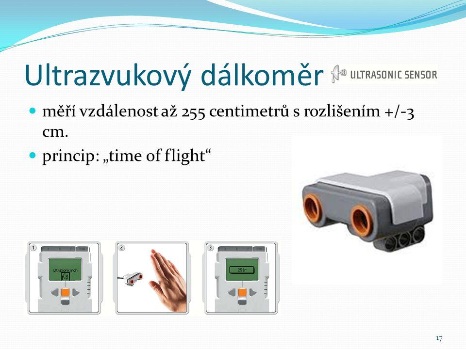 Ultrazvukový dálkoměr