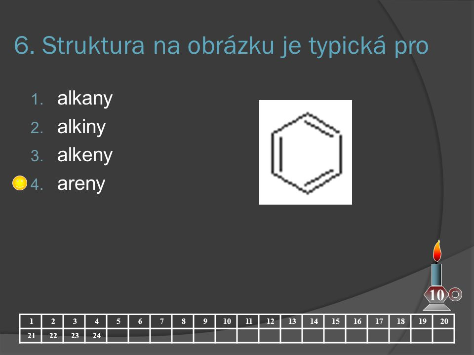 6. Struktura na obrázku je typická pro