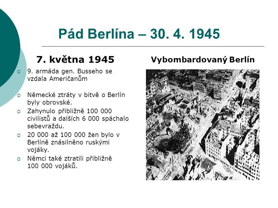 Vybombardovaný Berlín