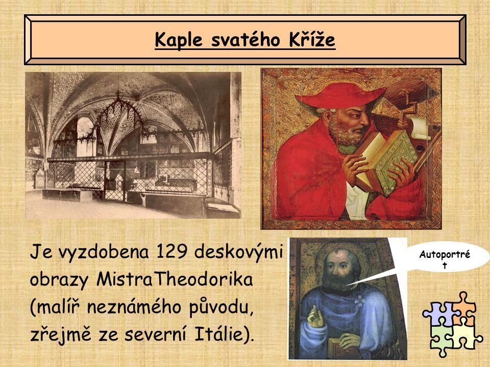 Je vyzdobena 129 deskovými obrazy MistraTheodorika