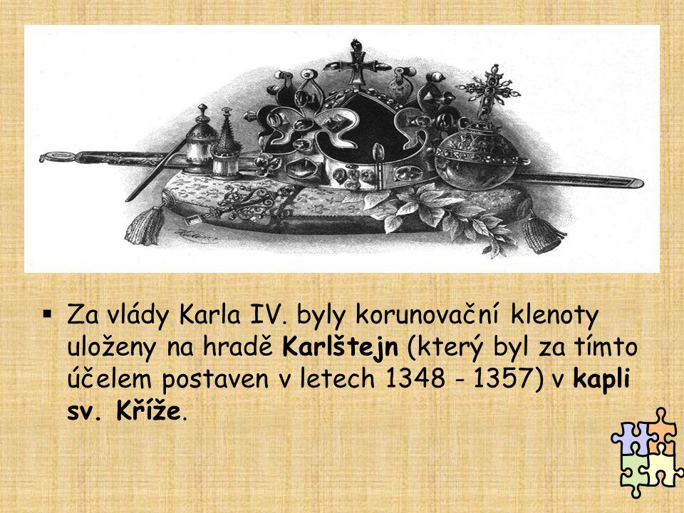 Za vlády Karla IV.