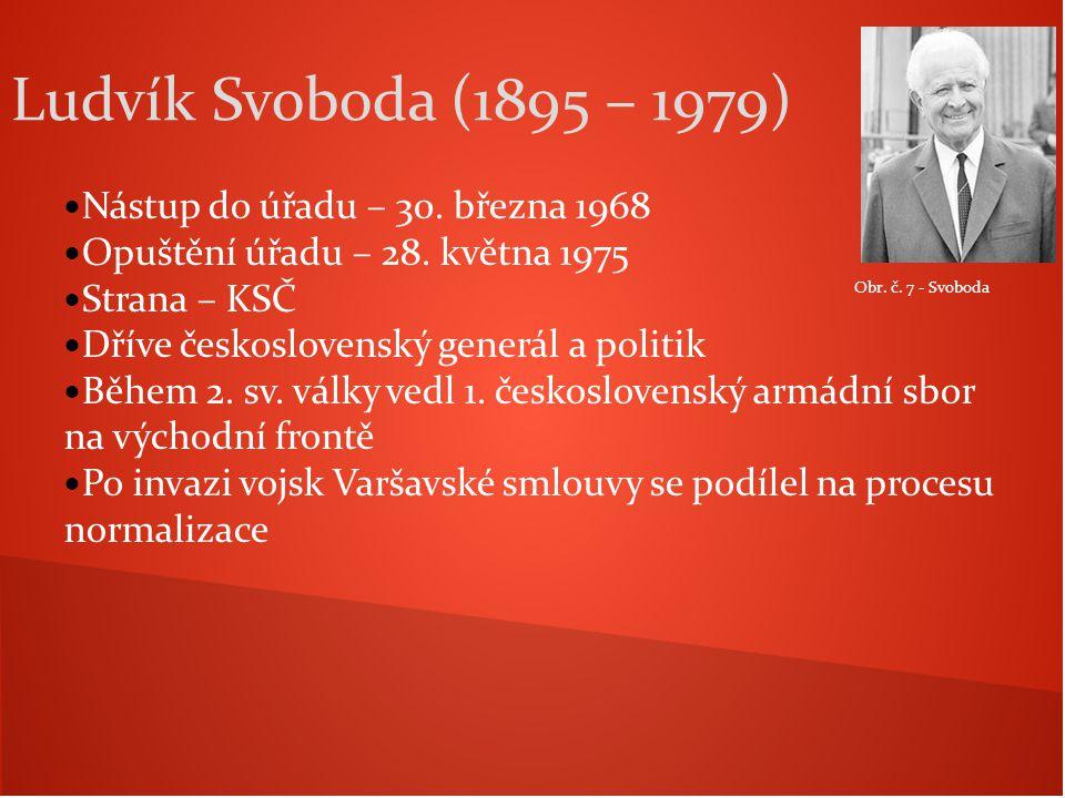 Ludvík Svoboda (1895 – 1979) Nástup do úřadu – 30. března 1968