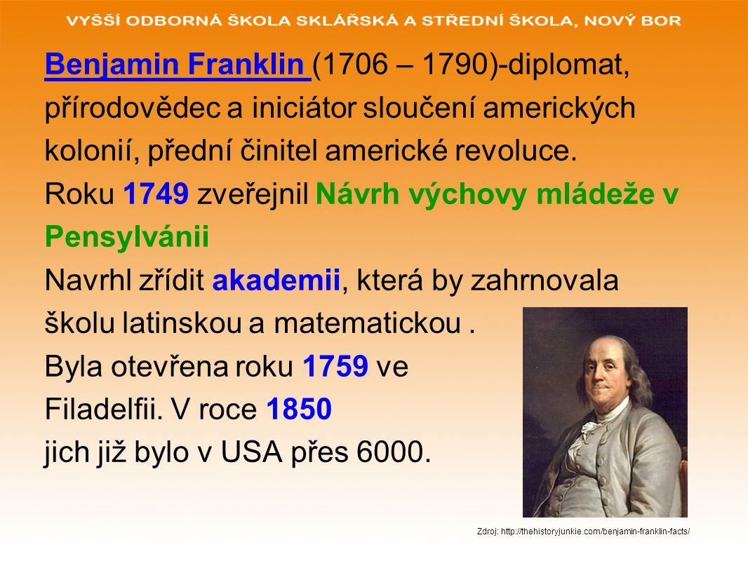 Benjamin Franklin (1706 – 1790)-diplomat,