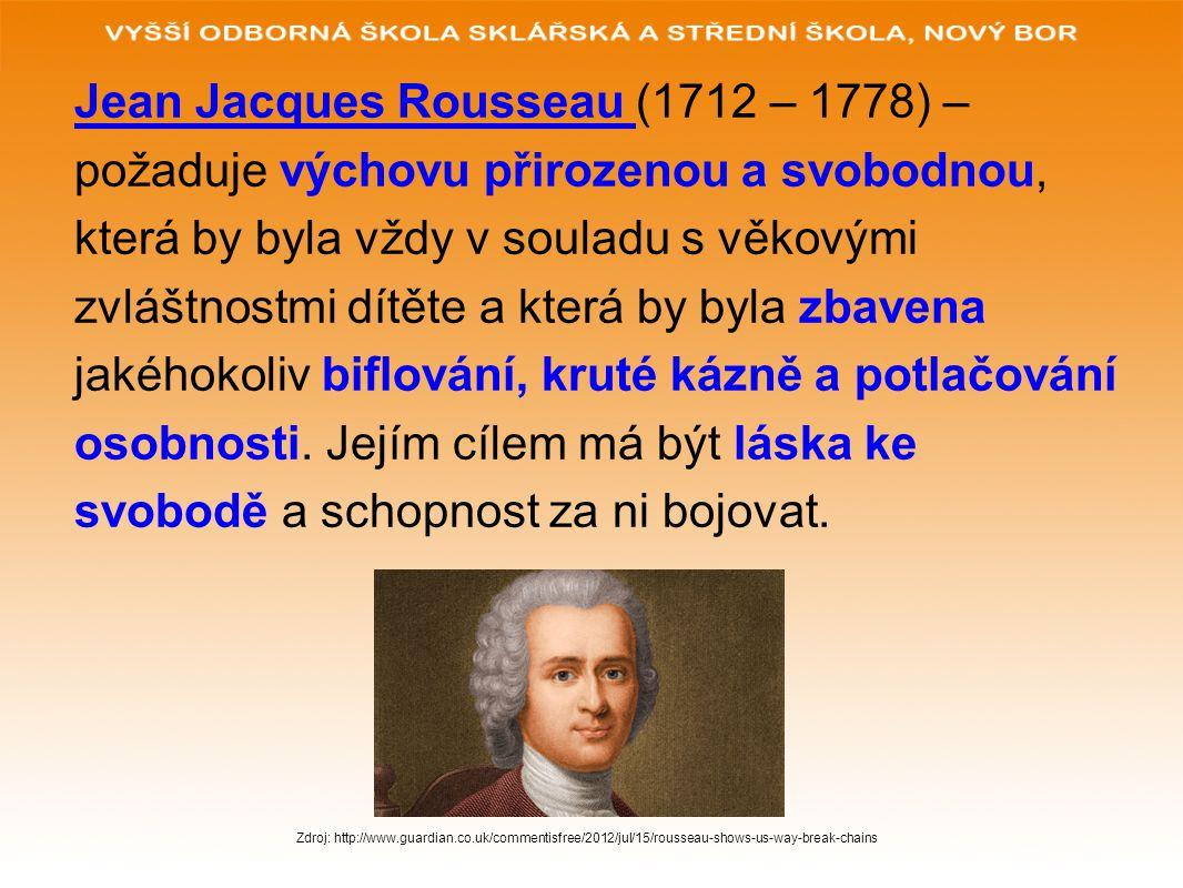 Jean Jacques Rousseau (1712 – 1778) –