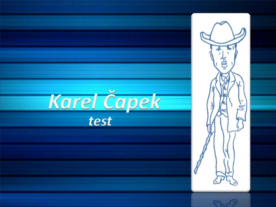 Karel Čapek test