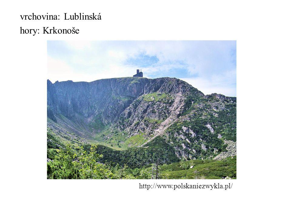 vrchovina: Lublinská hory: Krkonoše