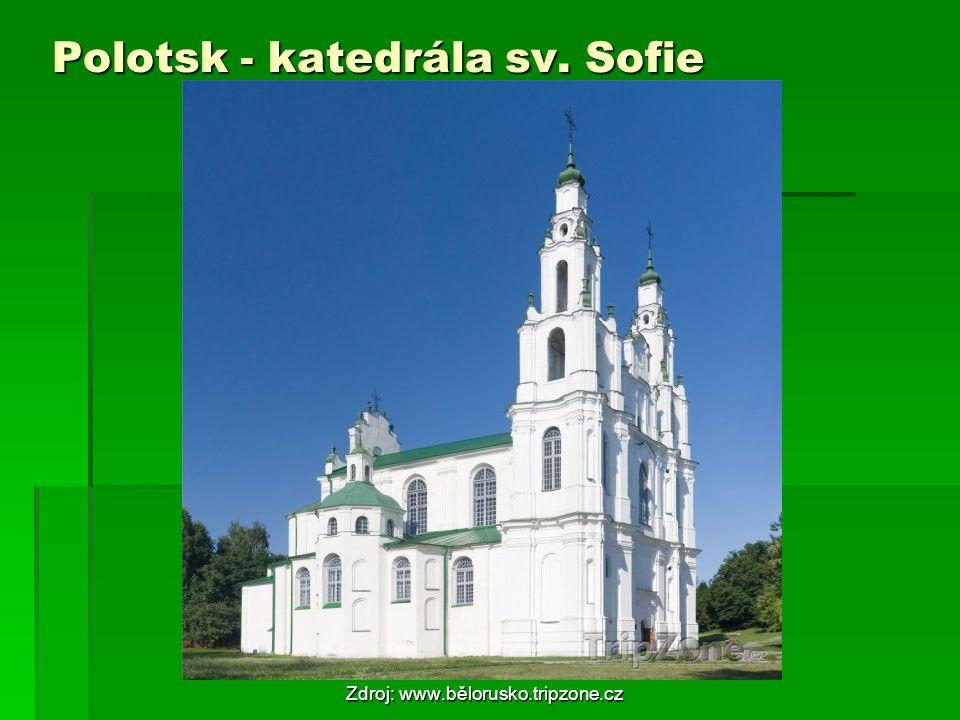 Polotsk - katedrála sv. Sofie